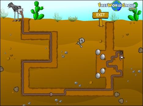 Игра - Ostrich Underground
